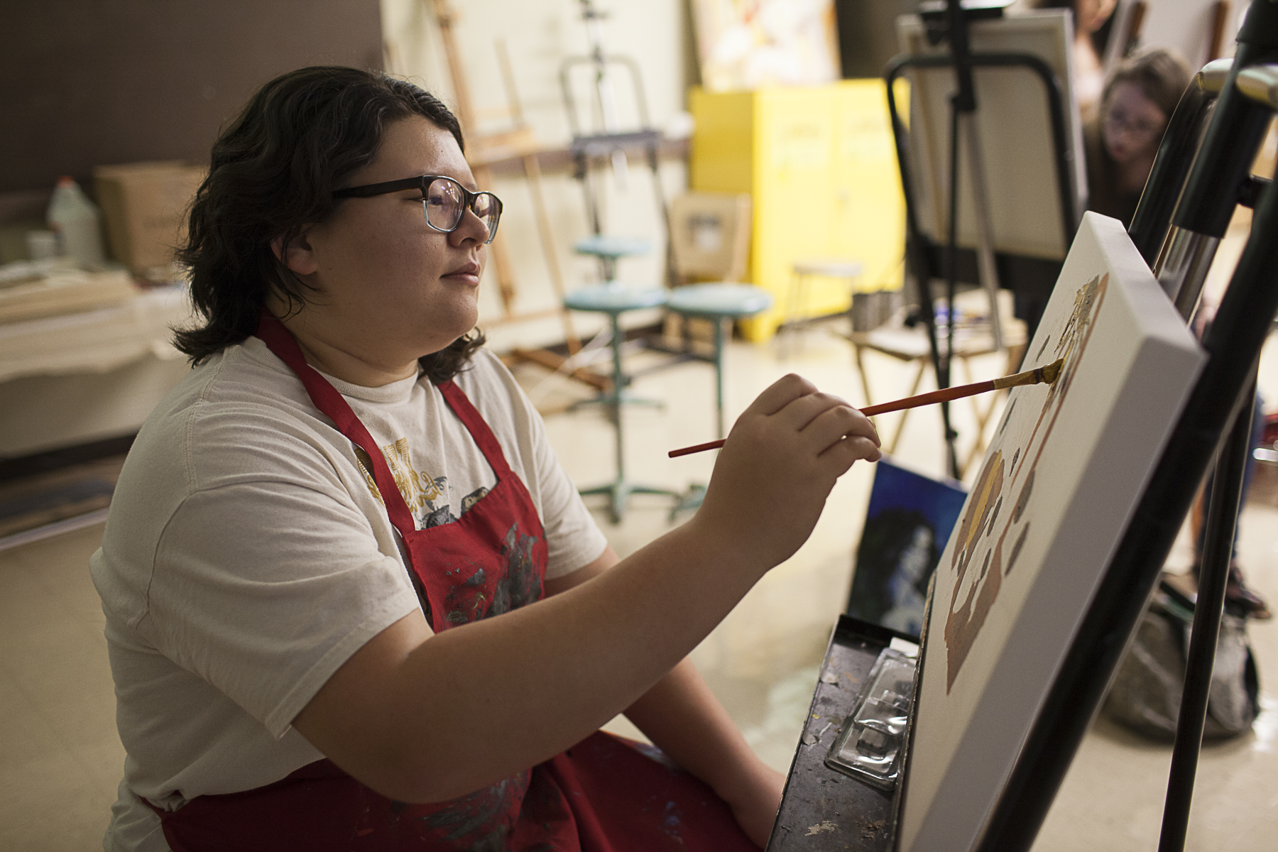 INTERNALLY MOTIVATED WCJC art show highlights students' dedication and passion for art