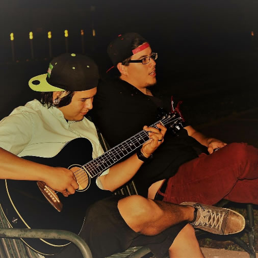 From Here on Out - comprised of WCJC students Frank Canales and Christian McLain, both of El Campo - will perform during the Nov. 16 Fall Showcase at Pioneer Student Center in Wharton.