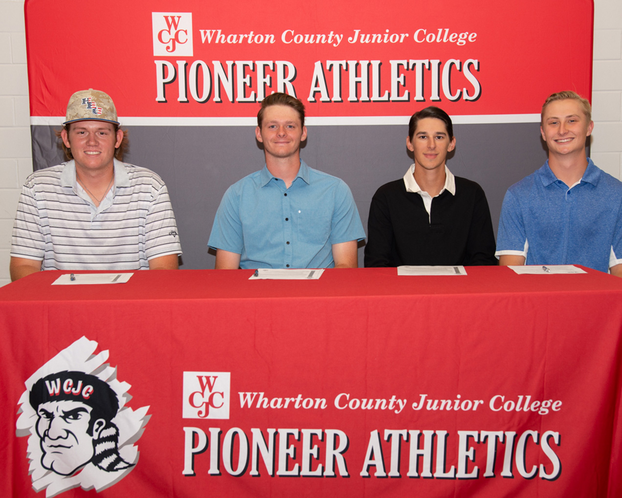 SIGNING DAY Pioneers sign to play baseball at four year universities