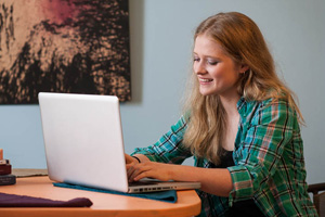 Distance education student