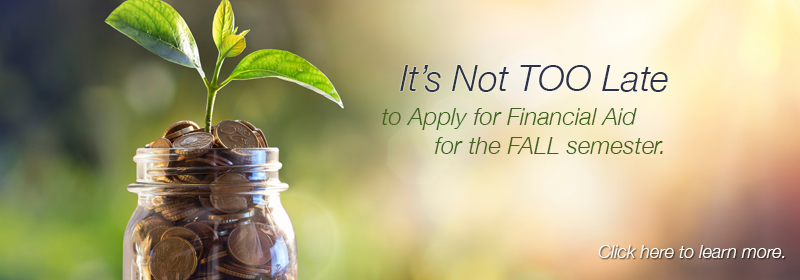 Financial Aid for Fall