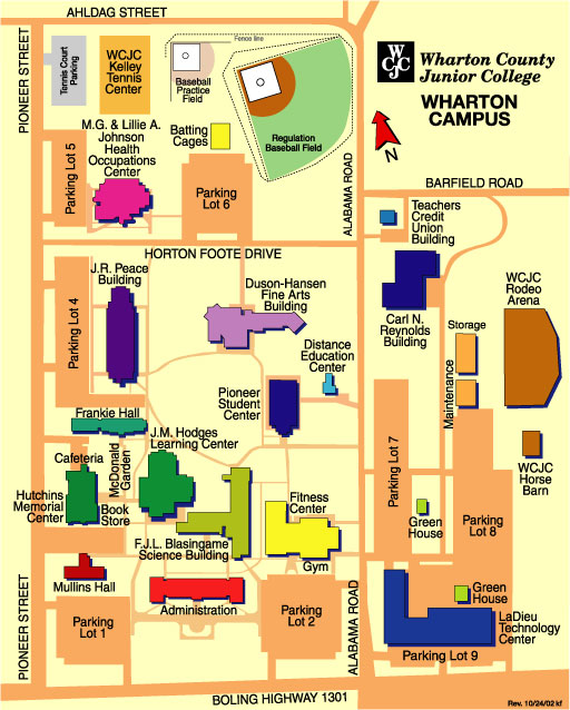 Wharton Campus Map